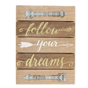 Inspirational Wood Welcome Plaque Tunic