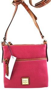 Dooney & Bourke pink Messenger Bag