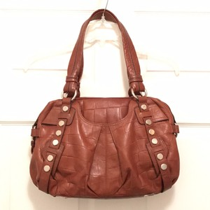 B. Makowsky Leather Gator/crocodile B. Satchel B. Leather Shoulder Bag