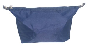 Longchamp Extra Large Le Pliage Cosmetic Bag Navy Blue Clutch