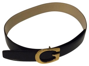 Gucci Gucci Brown Leather Shiny belt