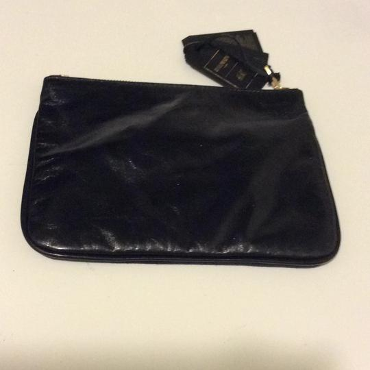 Balmain x H&M Balmain & H&M Suede Black/ Black Leather Cosmetic bag Image 1