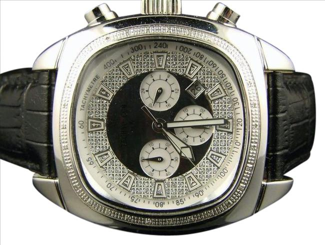 Techno Com by KC White Gold Finish Kc/Jojo/Joe Rodeo Diamond .50 Ct Watch Techno Com by KC White Gold Finish Kc/Jojo/Joe Rodeo Diamond .50 Ct Watch Image 1