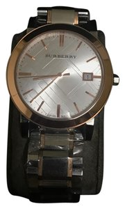 Burberry Brand New Burberry Unisex Swiss Rose Gold Watch BU9006