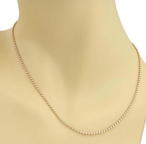 Cartier Cartier Mini Beads Link Chain in 18k Rose Gold - 17