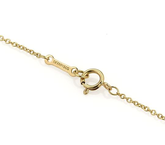 Tiffany & Co. Picasso 18k Yellow Gold Fancy Ribbon Tie Necklace Image 4