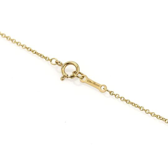 Tiffany & Co. Picasso 18k Yellow Gold Fancy Ribbon Tie Necklace Image 5