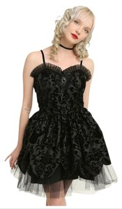 Hell Bunny Hot Topic Gothic Steampunk Prom Dress
