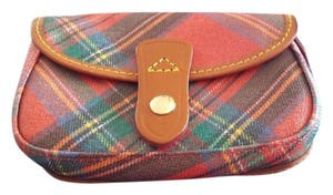 Dooney & Bourke Wristlet in Red Plaid