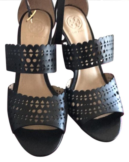 Tory Burch black Wedges Image 0