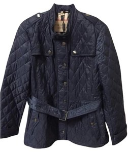 Burberry Brit Diamond Quilted Steel Blue Jacket