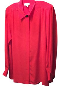 Evan Picone Top red