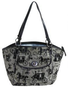Coach Handbag Handbag Horse Carriage Shoulder Bag