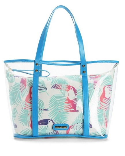 Juicy Couture Beach Blue & White Travel Bag Image 2