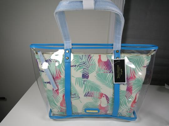 Juicy Couture Beach Blue & White Travel Bag Image 5