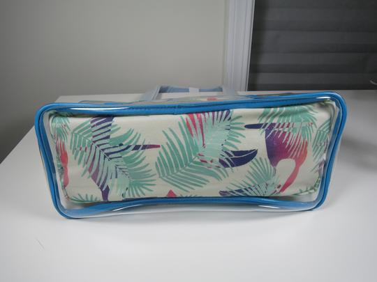Juicy Couture Beach Blue & White Travel Bag Image 7