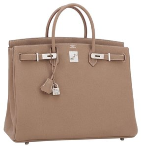 Herms Satchel in Etoupe