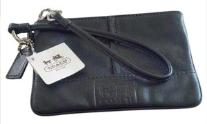 Coach New Wristlet in Black