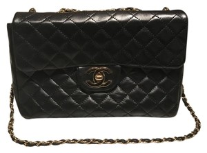 Chanel Maxi Classic Quilted Lambskin Shoulder Bag