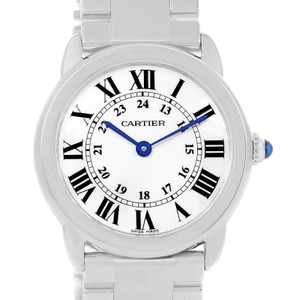 Cartier Cartier Ronde Solo Stainless Steel Ladies Watch W6701004 Year 2014