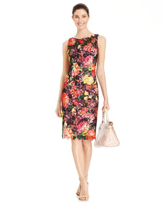 Preload https://img-static.tradesy.com/item/20936273/adrianna-papell-multicolor-floral-print-lace-short-cocktail-dress-size-4-s-0-0-650-650.jpg