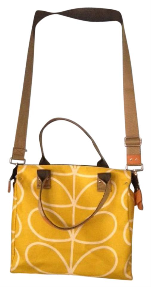 Orla Kiely Giant Linear Stem Dandelion Pvc Matt Laminated Canvas ... 8ea5a1dc95e4b