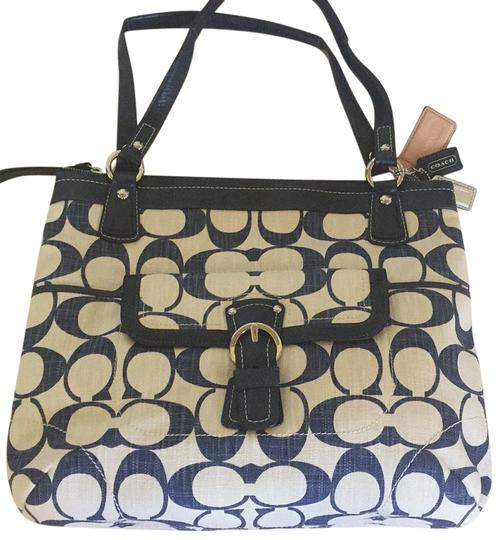 Preload https://img-static.tradesy.com/item/20936383/coach-m1193-19620-blue-white-leather-other-tote-0-1-540-540.jpg
