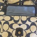 Coach M1193-19620 Blue/ White Leather/ Other Tote Coach M1193-19620 Blue/ White Leather/ Other Tote Image 8