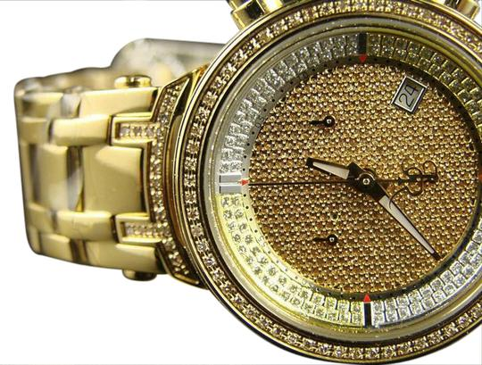 Preload https://img-static.tradesy.com/item/20936394/joe-rodeo-yellow-gold-finish-ladies-jojo-jojino-jjml9-genuine-diamond-watch-0-1-540-540.jpg