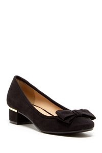 CL by Chinese Laundry Suede Bow Black Formal