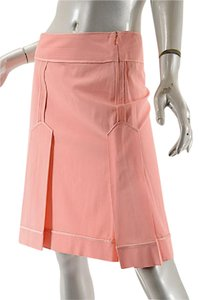 Moschino Cheap & Chic Pleated Easter Skirt Pink