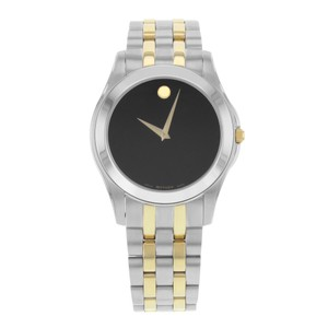 Movado Movado Corporate 605975 Stainless Steel Quartz Men's Watch (15717)