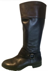Lauren Ralph Lauren Black/Dark Brown Boots