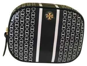 Tory Burch New!!! Gemini Link Nylon Cosmetic Case