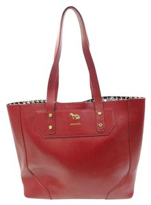 Emma Fox Tote in Red