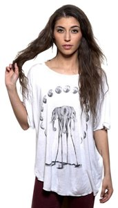 Neo Classics Art To Wear Elephant Los Angeles T Shirt White