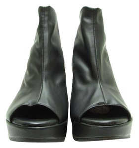 Cordani Ankle Wedge Black Boots