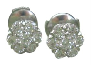 Van Cleef & Arpels Van Cleef & Arpels 18Kt Fleurette Diamond Earrings 1.10CT