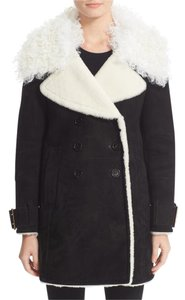 Burberry London Burberry Shearling Curly Lamb Norhurst Fur Coat