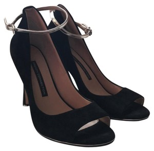 French Connection black/silver Pumps