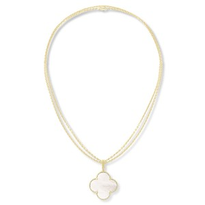 Van Cleef & Arpels Magic Alhambra Necklace Mother of Pearl in 18k Yellow Gold
