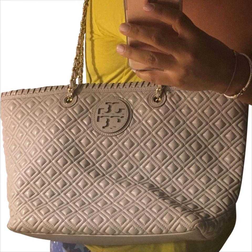Tory Burch Marion Quilted Chain-strap Tote - Tradesy : tory burch quilted tote - Adamdwight.com