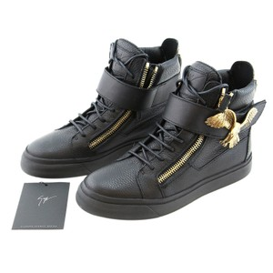 Giuseppe Zanotti Zanotti Sneakers High-top Sneakers Zanotti Gold Eagle Zanotti For Women Black Boots