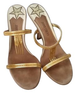 Jimmy Choo Vintage Vero Cuoio gold Formal