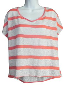 Anthropologie T Shirt Coral