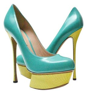 Nicholas Kirkwood Teal blue Pumps