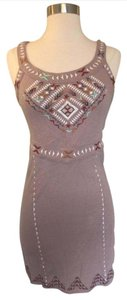 Free People short dress Red Taupe on Tradesy
