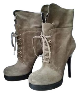 Giuseppe Zanotti Ankle Suede Green/gray Boots