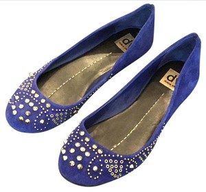 Dolce Vita Suede Royal blue Flats