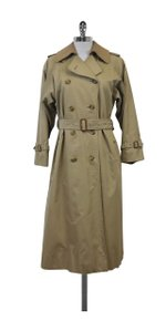 Burberry Classic Tan Trench With Removable Lining Coat